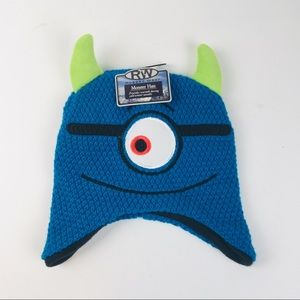 NWT Knit One Eyed Monster Beanie/Hat OS